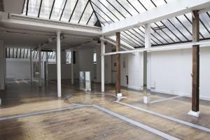 L'intérieur du showroom Adèle Sand